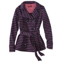 Merona® Women's French Terry Jacket w/ Belt -Assorted Colors