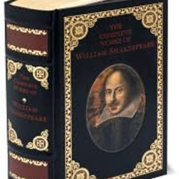 The Complete Works of William Shakespeare (Barnes & Noble Leatherbound Classics), Barnes & Noble Leatherbound Classics Series, William Shakespeare, (9780760703328). Hardcover - Barnes & Noble