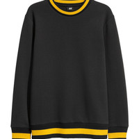 Scuba-look Sweatshirt - from H&M