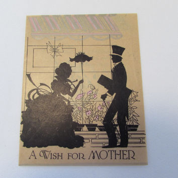 Vintage Greeting Card for Mother