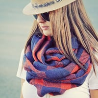 Fall Shadows Scarf