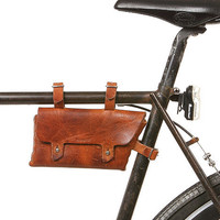 Billykirk - 211 Bike Frame Pouch in Waxed Cognac