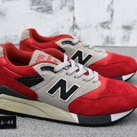 Fashion Online New Balance 998 Unisex Sport Casual N Words Multicolor Retro Sneakers Couple Running Shoes