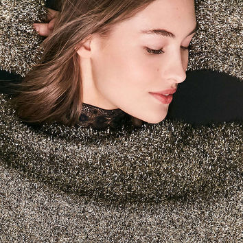 Silence + Noise Tinsel Oversized Sweater - Urban Outfitters