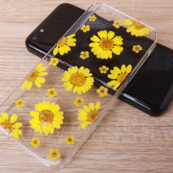 iPhone 6 case iPhone 6 plus Pressed Flower, iPhone 5/5s case, iPhone 4/4s case,  5c case Galaxy S4 S5 Note 2 note 3 Real Flower case NO:F483