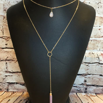 No Other Way Necklace: Rose