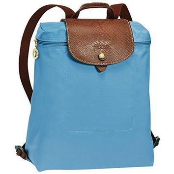 "Backpack ( blueberry ) by longchamp paris "" LE PLIAGE"" 100% authentic original from PARIS FRANCE"