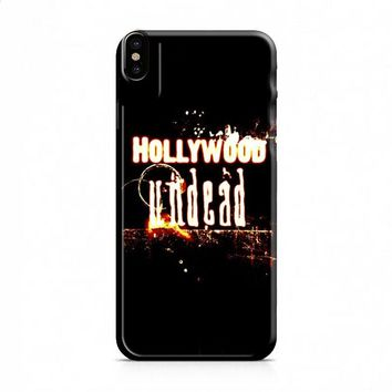Hollywood Undead Flame iPhone X case