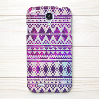 Samsung Galaxy S4 Case, Samung, S4 Case, Samung Galaxy S4 Wrap Around Case - Galaxy Aztec - 115