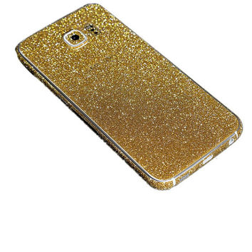 Samsung Galaxy NOTE 5 Glitter Skin Sticker - Pink, Silver, Purple, Black, Gold