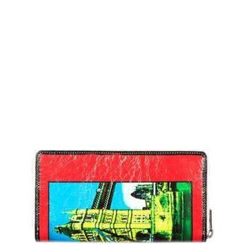 ONETOW balenciaga bazar london continental zip wallet 2