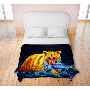 Night of the Grizzly - Duvet Cover
