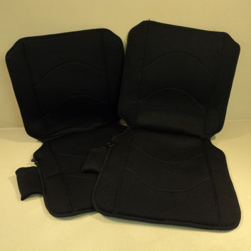 Winplus Car Seat Warmer 12V Lot of 2 Black High Low Setting PL-54337B -- Used