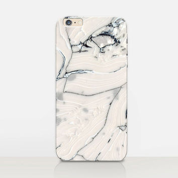 White Marble Print Phone Case iPhone 6 Case  iPhone 5 Case - iPhone 4 Case - Samsung S4 Case - iPhone 5C - Tough Case - Matte Case - Samsung