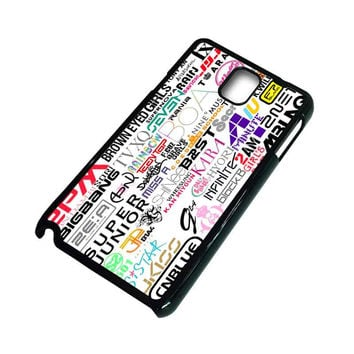 KPOP ALL BAND Samsung Galaxy Note 3 Case