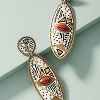 Desert Mosaic Drop Earrings