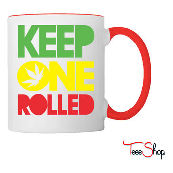 Keep one Rolled Coffee & Tea Mug