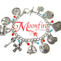 ONCE UPON A TIME Fandom Charm Bracelet