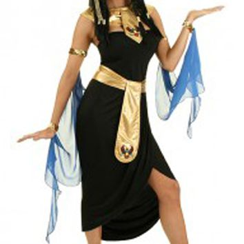 Atomic Black Cleopatra Inspired Costume