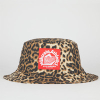 Milkcrate Athletics Cheetah Print Mens Bucket Hat Brown One Size For Men 22744540001