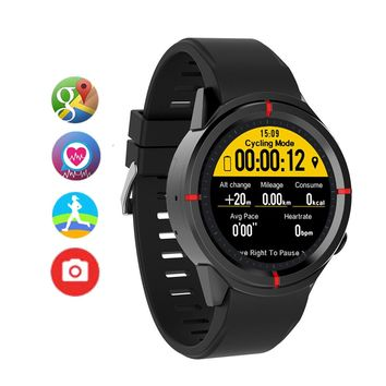 GW12 Smart Watch Men Women Heart Rate blood pressure Monitor compass Smart-watch Smartwatch GPS SIM Camera For Android IOS Phone