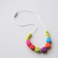 Chew Necklace for Kids/Oral Sensory Autism Necklace/Fidget Necklace/Sensory Necklace/ FREE Shipping on U.S. orders