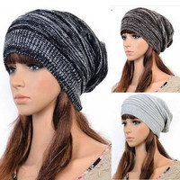 Special Cute Unsexed Women Man Fashion Xmas Knit Hot Beanie Beret Hat Winter Warm Oversized Ski Cap #2 = 1946864580