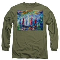 Wind On Sails - Long Sleeve T-Shirt