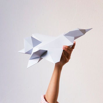 Download Paper Plane Template