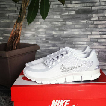Nike  free 5.0 with bling