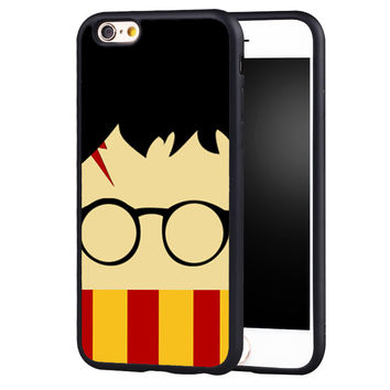 Cute Harry Potter Gryffindor Scarf Soft TPU Protective Shell Skin Phone Case For iPhone 6 6S Plus 7 7 Plus 5 5S 5C SE 4 4S Cover