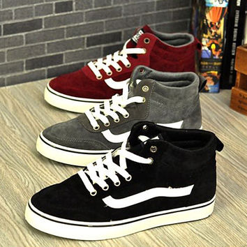 Men's Fashion Style Ankle High Sneakers