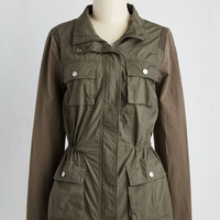 Military Mid-length How Do You Hike Me Now? Jacket