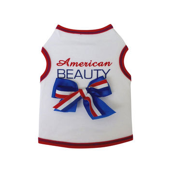 American Beauty Dog Top