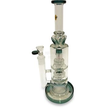 HoneyDew Double Perc Water Pipe (7mm)