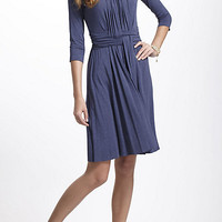 Ruched Basketry Dress