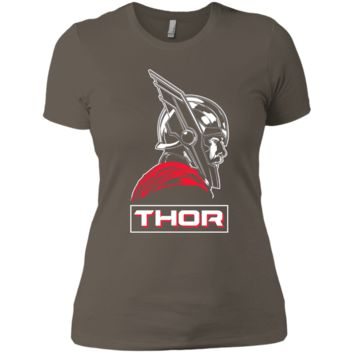 Marvel Thor Ragnarok God of Tonal Street View T-Shirt NL3900 Next Level Ladies' Boyfriend T-Shirt
