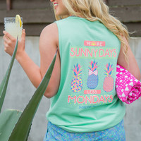 Jadelynn Brooke: More Sunny Days, Less Mondays Tank {Island Reef}