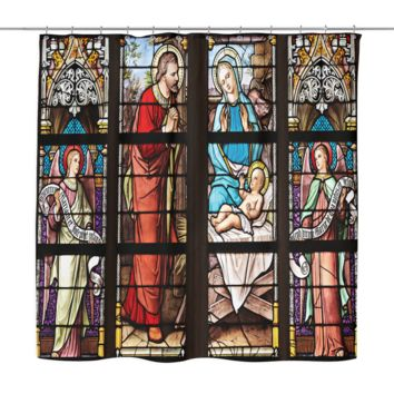 Church Window Shower Curtain