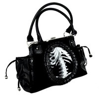 Skeleton Clutch Hand Bag Gothic Lolita Death Purse