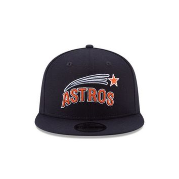 New Era Men's Houston Astros Jose Altuve 27 9FIFTY Snapback Tech Cap | Academy