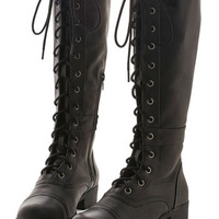 ModCloth Military Steadfast Friends Boot