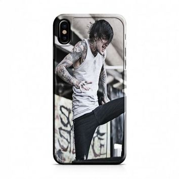 Suicide Silence (grey crouch) iPhone X Case