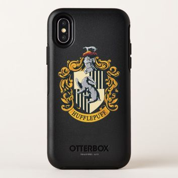 Hufflepuff Crest OtterBox Symmetry iPhone X Case