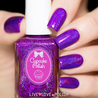 Cupcake Polish Berry Good Looking Nail Polish (Berry Patch Collection)