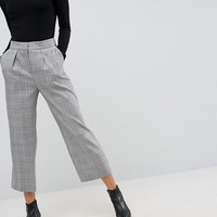 ASOS Tailored Mansy Tapered PANTS in Check at asos.com