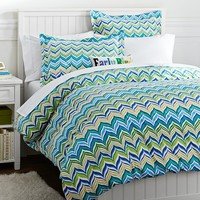 Newport Wave Duvet Cover + Sham