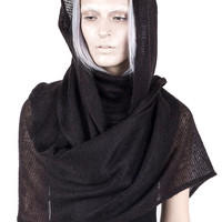 Chasuble Dress Scarf – Soot