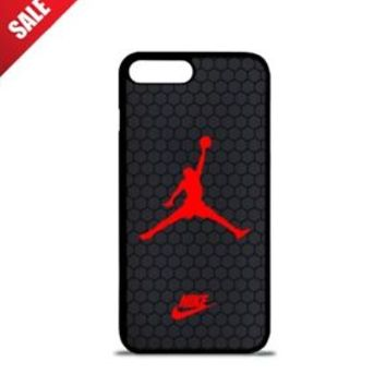 Luxury Nike.09 Air Jordan Red Logo Hard Case For iPhone 6 6s 7 8 Plus X Cover +