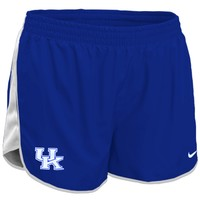 Nike Kentucky Wildcats Youth Girls Tempo Performance Shorts - Royal Blue